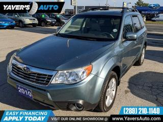 Used 2010 Subaru Forester 2.5X Limited NAVIGATION for sale in Hamilton, ON
