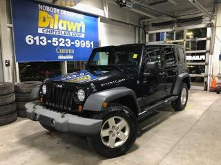 Used 2009 Jeep Wrangler Unlimited Rubicon/Only 89,000 KM's!! for sale in Nepean, ON