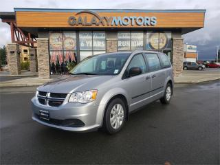 Used 2016 Dodge Grand Caravan CANADA VALUE PACKAGE - Stow 'n Go Seats for sale in Courtenay, BC