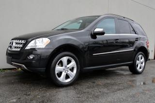 Used 2010 Mercedes-Benz ML-Class ML350 4MATIC for sale in Vancouver, BC