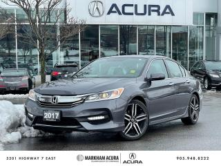 Used 2017 Honda Accord Sedan L4 Sport CVT for sale in Markham, ON