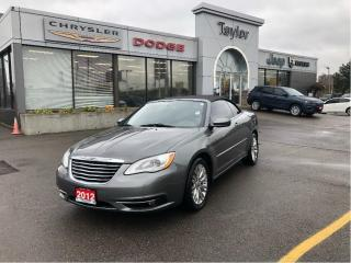 Used 2012 Chrysler 200 Convertible Touring V6 w/Power Seat, Heated Seats, Remote Star for sale in Hamilton, ON