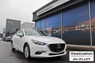 Used 2018 Mazda MAZDA3 Sport GS - local, non smoker, heated seats and steering! for sale in Vancouver, BC