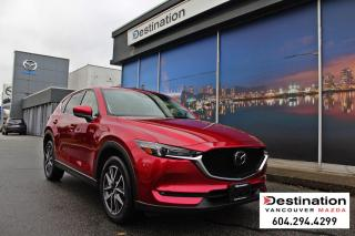 Used 2018 Mazda CX-5 GT-With 7yr/140,000km limited powertrain warranty! for sale in Vancouver, BC