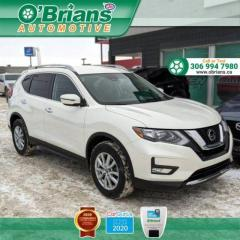 Used 2020 Nissan Rogue SV - Accident Free! w/Mfg Warranty, AWD, Pro-pilot Assist, Heated Sets, Command Start, Backup Camera for sale in Saskatoon, SK