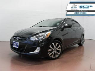 Used 2017 Hyundai Accent BLUETOOTH | HEATED SEATS | SUNROOF   - $79 B/W for sale in Brantford, ON