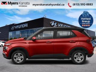 New 2021 Hyundai Venue Trend Urban Black  - $162 B/W for sale in Kanata, ON