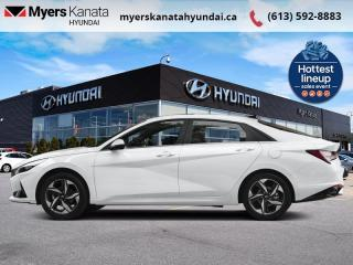 New 2021 Hyundai Elantra ELANTRA ESS FWD  - $136 B/W for sale in Kanata, ON