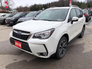 Used 2018 Subaru Forester LTD! CLEAN CARFAX! HEATED LEATHER! NAV! BT! CAM! for sale in Aylmer, ON