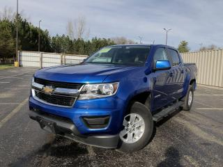 Used 2019 Chevrolet Colorado WT Crew 4WD for sale in Cayuga, ON