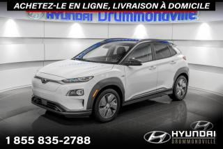 Used 2019 Hyundai KONA Electric ULTIMATE + GARANTIE+ NAVI +TOIT + CUIR + for sale in Drummondville, QC
