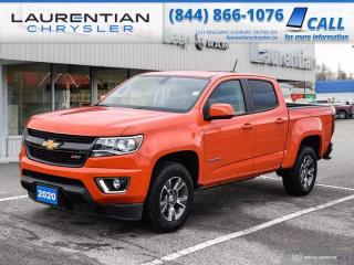 Used 2020 Chevrolet Colorado 4WD Z71!!  4X4!!  HEATED SEATS!! for sale in Sudbury, ON