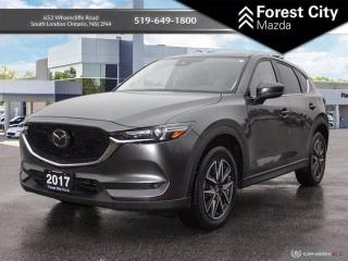 Used 2017 Mazda CX-5 ADVANCED SAFETY GROUP | ONE OWNER TRADE | CLEAN CARFAX HISTORY for sale in London, ON