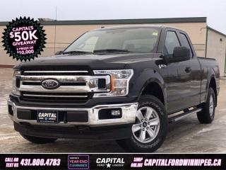 Used 2018 Ford F-150 XL SuperCab   **New Arrival** for sale in Winnipeg, MB