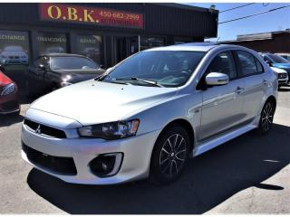 Used 2016 Mitsubishi Lancer Sportback-SE-TOIT OUVRANT-CAMERA RECUL-BLUETOOTH for sale in Laval, QC