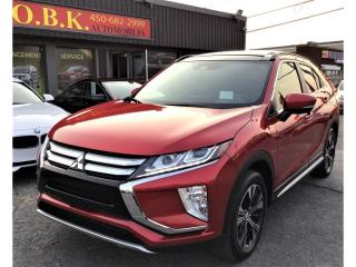 Used 2020 Mitsubishi Eclipse Cross GT S-AWD-TOIT OUVRANT-APPLE CARPLAY-CAM RECUL 360 for sale in Laval, QC