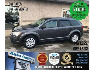 Used 2015 Dodge Journey CVP* Bluetooth/Dual AC/Keyless entry for sale in Winnipeg, MB
