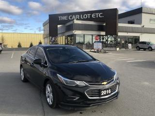 Used 2016 Chevrolet Cruze Premier Auto Front Wheel Drive for sale in Sudbury, ON