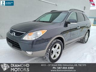 Used 2012 Hyundai Veracruz Limited w/Nav for sale in Edmonton, AB
