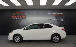 Used 2014 Toyota Corolla LE ECO CVT AUTO SIÈGES CAMERA DÉMARREUR 89 105 KM for sale in Lévis, QC