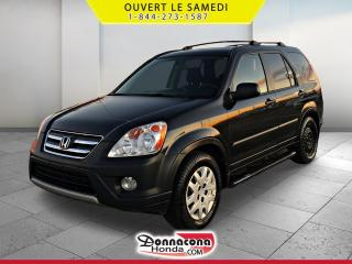 Used 2006 Honda CR-V SE *4 ROUES MOTRICES* BAS KM* for sale in Donnacona, QC