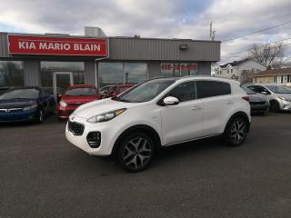 Used 2017 Kia Sportage SX Turbo- GPS*TOIT PANO*CUIR *VOLANT CHAUFFANT for sale in Mcmasterville, QC