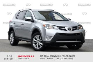 Used 2015 Toyota RAV4 Limited / CUIR / NAVI /TOIT / CAMERA CUIR - TOIT - NAVI for sale in Montréal, QC