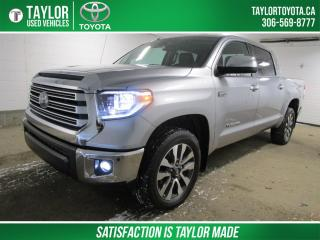 Used 2019 Toyota Tundra Limited 5.7L V8 LIMITED PACKAGE for sale in Regina, SK