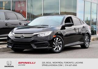 Used 2016 Honda Civic EX AUTO TOIT BAS KM AUTO BAS KM TOIT MAGS BLUETOOTH for sale in Lachine, QC