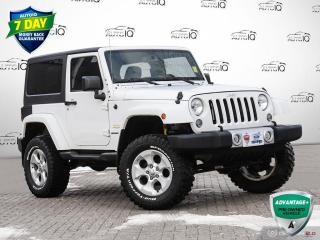 Used 2014 Jeep Wrangler Sahara GPS NAVIGATION   NO ACCIDENTS for sale in Barrie, ON