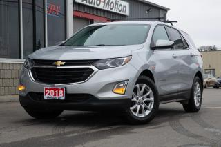 Used 2018 Chevrolet Equinox LT ROOF RACKS - BACKUP CAM - POWERED SEATS - CLEAN! for sale in Chatham, ON