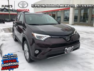 Used 2018 Toyota RAV4 AWD Limited  - Navigation -  Sunroof for sale in Steinbach, MB