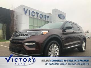 Used 2020 Ford Explorer Limited| HYBRID |ADAPTIVE CRUISE| 2.49%| ROOF| NAV for sale in Chatham, ON