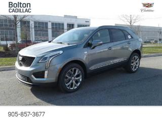 New 2021 Cadillac XT5 Sport - Navigation - Leather Seats - $424 B/W for sale in Bolton, ON