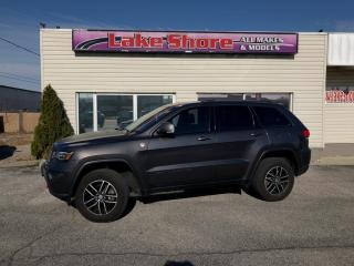 Used 2017 Jeep Grand Cherokee Trailhawk PANORAMIC ROOF for sale in Tilbury, ON