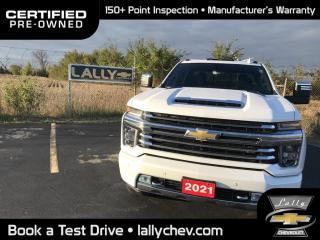 Used 2021 Chevrolet Silverado 2500 HD High Country HIGH COUNTRY**DIESEL**LOCAL TRADE**ONE OWNER**NAVI for sale in Tilbury, ON