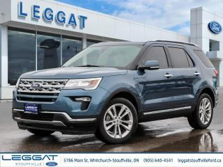 Used 2019 Ford Explorer Limited - FULLY LOADED V6, LEATHER, PANOROOF, NAVIGATION, ADAPTIVE CRUISE, MSRP OVER $60 000!! for sale in Stouffville, ON