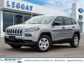 Used 2015 Jeep Cherokee Sport - 4X4, HEATED SEATS, HEATED STEERING WHEEL for sale in Stouffville, ON