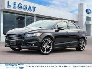Used 2014 Ford Fusion Titanium - LEATHER, SUNROOF, NAVIGATION, BLIND-SPOT MONITOR, for sale in Stouffville, ON