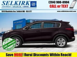 Used 2018 Kia Sportage LX for sale in Selkirk, MB