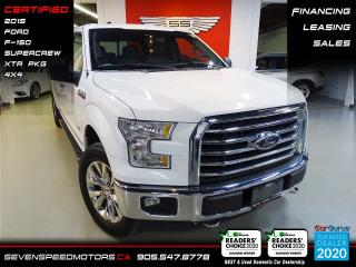 Used 2015 Ford F-150 XTR 4X4 | SUPERCREW | FINANCE @ 4.65% for sale in Oakville, ON