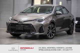 Used 2017 Toyota Corolla XSE AUTO; CUIR TOIT GPS SIEGES CHAUFFANT TSS-P NAVIGATION - TOIT-OUVRANT - PRÉ COLLISION - ASSISTANCE CHANGEMENT DE VOIE - MAGS 17'' for sale in Lachine, QC