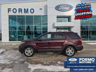 Used 2011 Ford Explorer LIMITED for sale in Swan River, MB