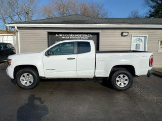 Used 2018 GMC Canyon 4WD for sale in Kingston, ON