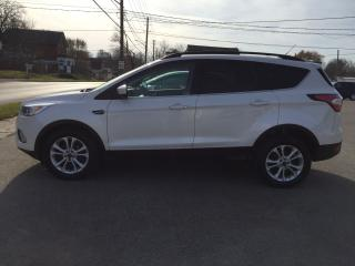 Used 2017 Ford Escape SE/LEATHER/S.ROOF/NAVIGATION for sale in Guelph, ON