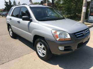Used 2008 Kia Sportage 166km,SAFETY+3 YEARS WARRANTY INCLUDED for sale in Toronto, ON