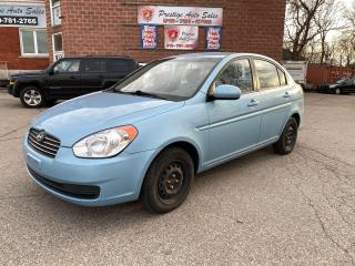 Used 2011 Hyundai Accent GL/1.6L/ONE OWNER/NO ACCIDENT/SAFETY+WARRANTY INCL for sale in Cambridge, ON