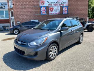 Used 2013 Hyundai Accent GLS/1.6L/6 SPEED/NO ACCIDENT/SAFETY+WARRANTY IN for sale in Cambridge, ON