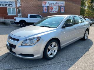 Used 2011 Chevrolet Malibu LS/2.4L/NO ACCIDENT/SAFETY+WARRANTY INCLUDED for sale in Cambridge, ON