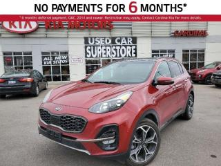 Used 2020 Kia Sportage SX, AWD, Navigation, Leather, Sunroof. for sale in Niagara Falls, ON